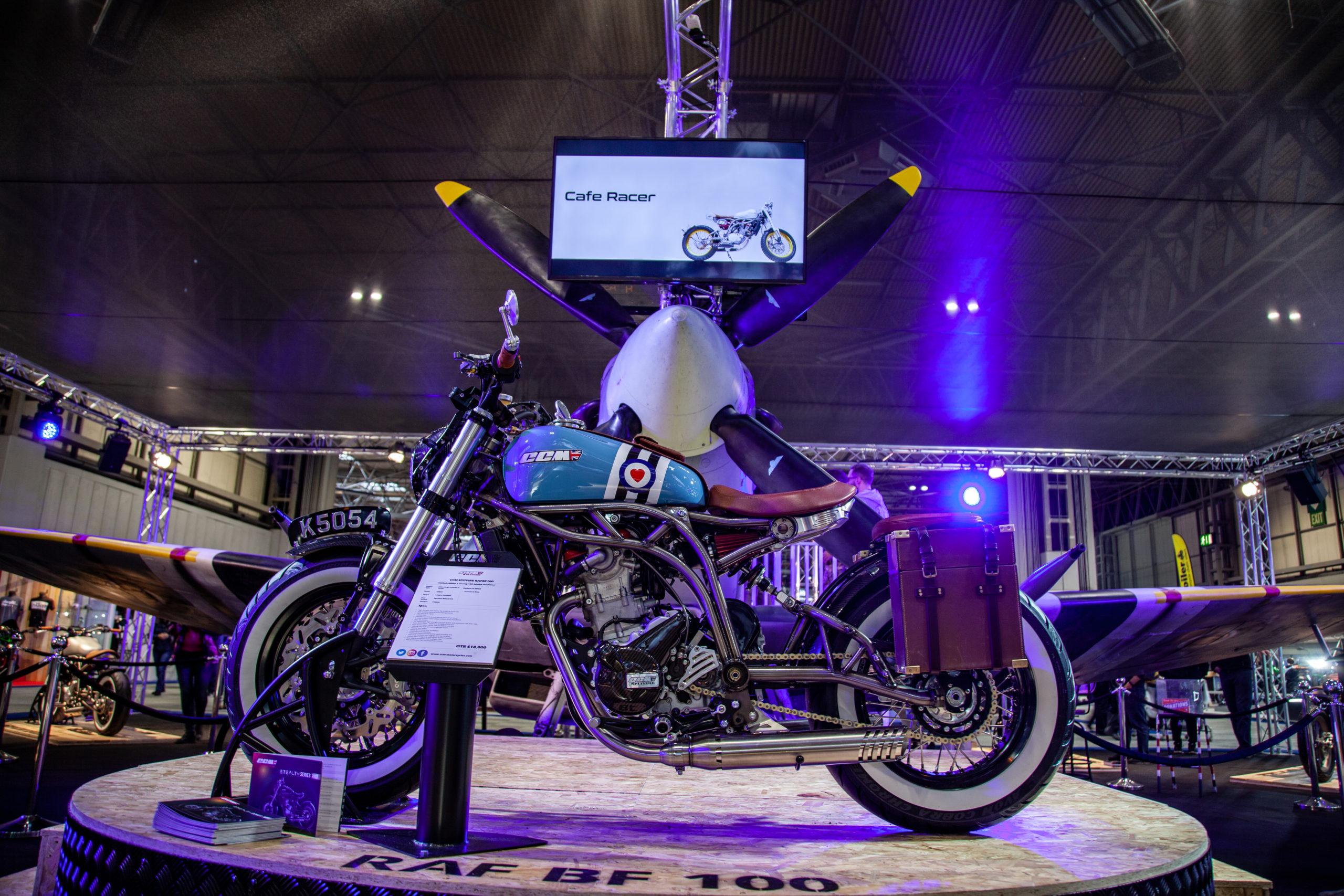 motorcycle live 2019 cafe racer ccm display 2